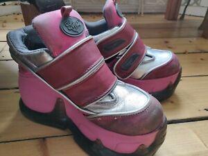 Vintage 90's  SWEAR alternative platform shoes Size 36 / size UK 6 (5.5)