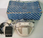 telefono vintage telemar lux, anni 70-80, trasparente, RARO