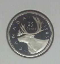 Canada 1985 Proof quarter 25 cents