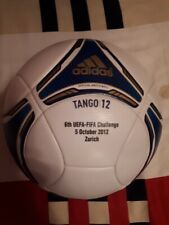 Adidas Tango 12 Official Match Ball 6th UEFA-FIFA Challenge 2012 Zurich Size 5
