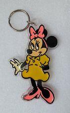 Rare Vintage Retro Minnie Mouse Keyring
