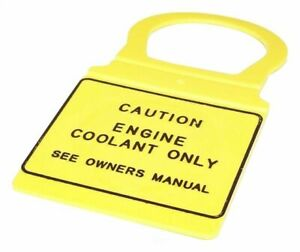 Crown For Chrysler / Dodge / Jeep Yellow Coolant Bottle Cap Plastic - 4682828