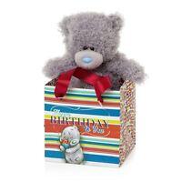 "Me to You - 5"" Happy Birthday in a Bag - Plush Bear in Gift Bag - Tatty Teddy"