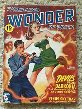 Thrilling Wonder Stories Pulp Magazine - Spring 1945 - GGA Science Fiction