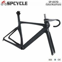 Aero Carbon Road Bike Frames Handlebar Thru Axle Disc Brake Racing Bicycle Frame