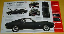 1969 1970 Ford Mustang Fastback Boss 429 ci 375 hp Info/Specs/photo 15x9