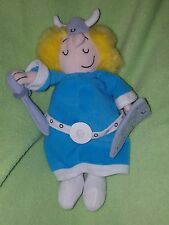 HELGA Plush Beanie Hagar the Horrible wife King Features Synd Universal 1999