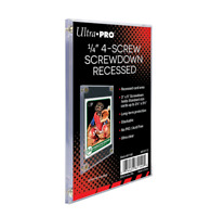 Ultra Pro 4-Screw Screwdown Trading Card Holder Standard Recessed