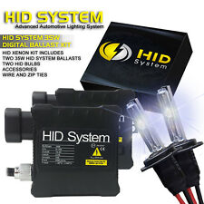 HID System Xenon Light HID KIT 6000K 6K Diamond White H4 H7 H10 H11 H13 9006 880