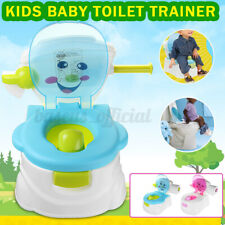 2 In 1 Kid Baby Toilet Training Toddler Potty Trainer Seat Chair Urinal ┞ �