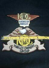 Harley Davidson HOG Ladies of Harley Patch Lot
