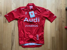 Castelli Audi Cycling Team Podio Jersey (Red) - Size XS