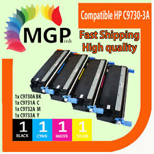 4x C9730A C9731A C9732A C9733A Toner Cartridge For HP 5550dtn 5500 5500n 5500dn