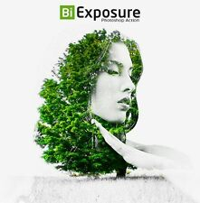 Bi Exposure Photoshop Action  (PS CS3,CS4,CS5,CS6,CC ) **Digital Delivery**
