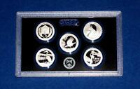 2015 S Silver Proof Quarter Set- Gem Proof Deep Cameo-NO Box COA