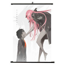 Japan Anime Darling in the FranXX Poster Canvas Wall Scroll Decor Mbyss J1K9