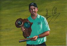 Thomas AIKEN SIGNED Golf Autograph 12x8 Photo AFTAL COA Authentic Sunshine Tour