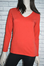 NEW SEASALT Meadow Pipit Organic Cotton Top RED Brick  - Size 10 12 14 16 18 20