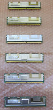 Original Dell 12Gb (6 x 2Gb) memory Poweredge 1950 2950 6950 R900 1900 2900 + ot