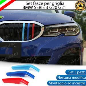 BMW SERIE 3 G20 G21 COVER PER GRIGLIA IN STILE BMW M SPORT AD INCASTRO CALANDRA