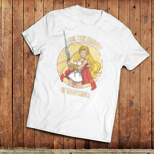 She Ra T-Shirt, inspired but the masters of the universe 1980's TV SHow