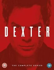 Dexter - The Complete Series Box Set Seasons 1-8 [DVD] PLAYBACK REGION 2