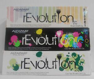 AlfaParf Milano REVOLUTION DIRECT COLORING CREAM Hair Color ~ 3.04 fl. oz.