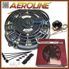 """7"""" pollici Aeroline ® ELETTRICO RADIATORE INTERCOOLER VENTOLA DI RAFFREDDAMENTO + controllo del termostato"""