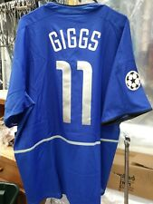 NWT Authentic Nike 2003 Manchester United Giggs CL Jersey XXL