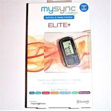 WEGO MYSYNC ELITE Activity & Sleep Tracker Distance Calories Steps NEW in Box