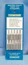 """Eazypower 73238 T8-T40 1"""" Long Security Hex Insert Bits dq"""