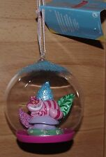 Disney Store Cheshire Cat Bauble Christmas tree decoration Alice in Wonderland