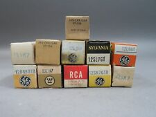Mixed Lot of 11 Vintage Vacuum Tubes Ham Radio, Tv, Audio, Amplifier