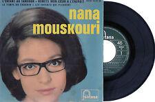 NANA MOUSKOURI L'Enfant Au Tambour France 1965 EP Fontana 460.936