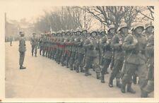 Nr 18996 Foto PK Deutsche  Soldaten Parade Vereidigung