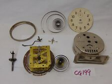 New listing Vintage Clock Movement Repair Replacement Part-Ingraham Dawn Alarm Pieces