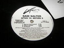 "Sam Salter After 12, Before 6 12"" single NM 5 trks PROMO LaFace 1997"