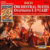 Bach: Orchestral Suites Nos. 1-3 (CD, Aug-1990, Laserlight)