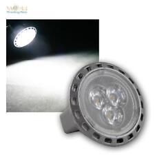 MR11 Leuchtmittel 3x Power-LED kaltweiß, 200lm, 12V/2W, Strahler Spot Lampe bulb