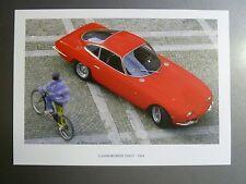 1964 Lamborghini 350 GT Coupe Print, Picture, Poster -- RARE!! Awesome L@@K