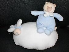 doudou peluche musical ours Tonton bleu sur nuage NOUKIE'S noukies musique