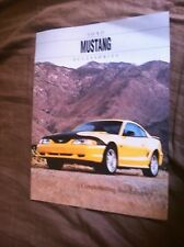 1994 Ford Mustang Accessories Color Sales Brochure Prospekt