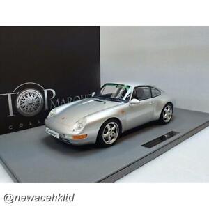 Porsche 911 (993) Carrera Silver TOP MARQUES MODEL 1/12 #TM12-18B