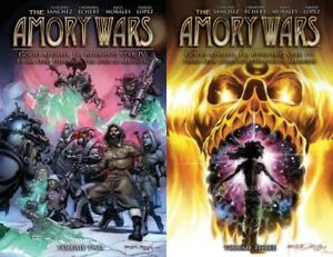 The Amory Wars: Good Apollo I'm Burning Star IV Vol. 2 & 3 Coheed Claudio TPB