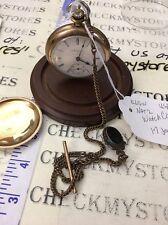 Antique Elgin 9848017 B&B Royal National Pocket Watch 1898 17 Jewels Working