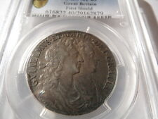 More details for pcgs certified 1689 william and mary halfcrown ef40!!!