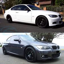 """GTC Wheels GT-CX 19"""" Stag Matte Black BMW 3 E90 E91 E92 E93 320 323 325 330 335"""
