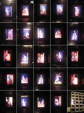 Akt Studien-Erotik.Nude-24 x  Fotographie 1970. Jahre Farbe-Act study erotic-N.8
