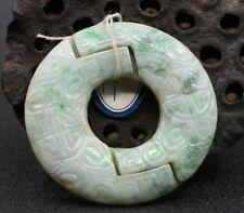 China Exquisite Hand-carved Jadeite jade Pendant
