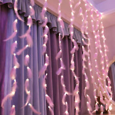 USB LED Curtain Fairy Lights Waterfall Indoor Outdoor Backdrop Christmas Party
